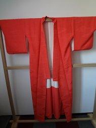 Traditionele Japanse Vintage Kimono Pink Rood