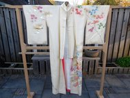Traditionele Japanse Kimono Bladeren