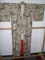 Traditionele Japanse Kimono Uchi Mori Vintage Antiek