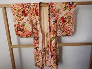 kinder meisjes kimono met bloemen