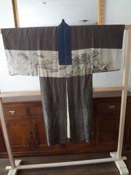 Traditionele Zijden Japans Nagajiban