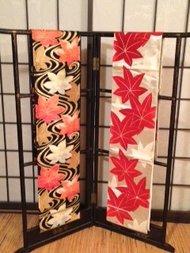 Traditionele Japanse Obi / Kimono band hana R Fukuro Zijde