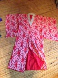 Traditionele Japanse Nagajiban Rood