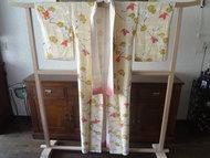 Traditionele Japanse Zijden Kimono Vlinder