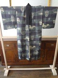 Nagajiban Japanse Kimono Zijde