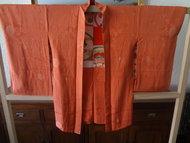 Traditionele Japanse Zijden Haori hana OJ/Rose