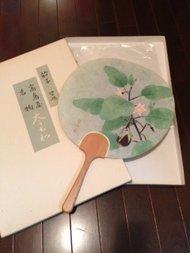 Vintage Japanse Uchiwa/ Waaier