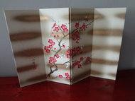 Japanse Byoubu Kamerscherm Sakura