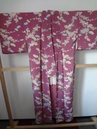 Traditionele Japanse Kimono Paars Waaier