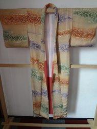 Traditionele Japanse Kimono Matsuri groen paars oranje