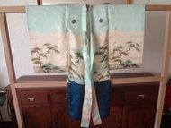 Japanse Miyamairi Kimono Arend borduur