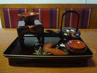 Japans lakwerk otoso sakazuki kopjes japan osechi ritueel vintage