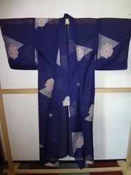 Traditionele Japanse Kimono licht hana Japans Blauw