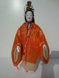 Japanse Pop Oyama-ningyô doll Vintage Antiek Japan