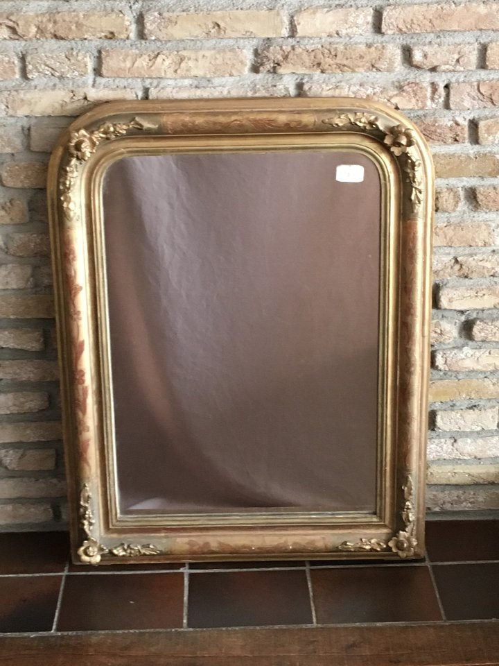 Louis Philippe Mirror - French Antiques around 1860