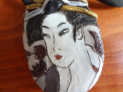Japanse Ketting Sjanson Kameo door Keiko Yamano