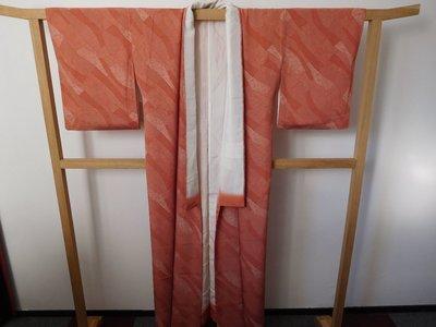 Traditionele japanse kimono rood spikkel streep