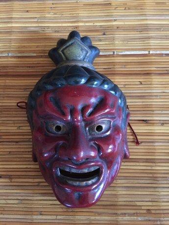 Japans Vintage Masker Antiek Japan Oroshi Oumen