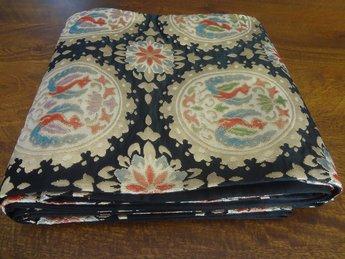 Traditionele japanse obi/kimonoband zwart fukuro zijde japan