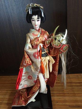 Japanse Antieke Geisha Pop Vintage Japan
