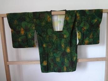 Traditionele japanse haori kimono jasje japans groen
