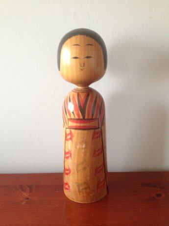 Japanse vintage kokeshi groot 3