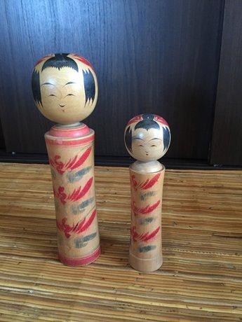 Kokeshi set