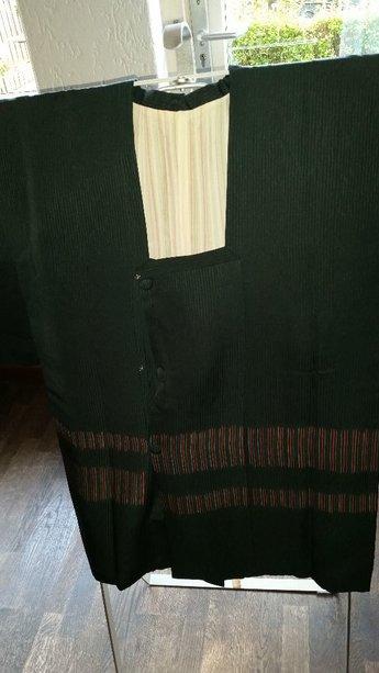 Traditionele Japanse Haori Zwart
