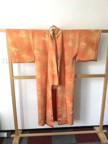 Traditionele Japanse Kimono Ingeweven Bloem