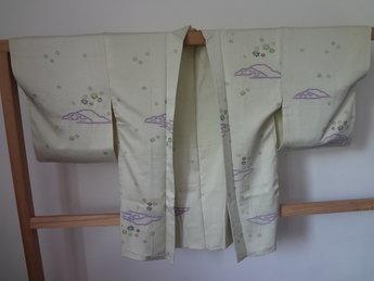 Traditionele Japanse Haori groen blad
