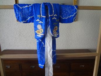 Kinder Kimono 2 delen Blauw