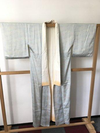 Kimono Japan Mintgroen golf 5