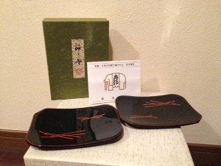 Zohiko Japans Lakwerk schaaltjes - Zohiko is gespecialiseerd in het maken van fijne lakwerk producten voor meer dan 300 jaar (sinds 1661). In de achttiende eeuw, kreeg Hikobei Nishimura de derde de eretitel van