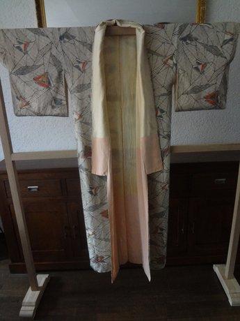 Traditionele Vintage Japanse Zijde Kimono Japan
