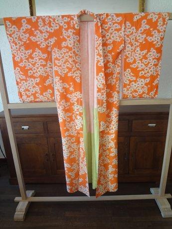 Traditionele Japanse Zijden Kimono oj-pink
