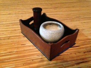 Tabakobon Japanse Antieke Tabakskist 1926-1930 Nara, Japan
