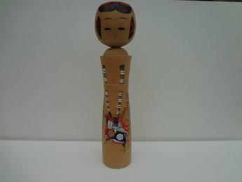 Japanse Kokeshi Pop Vintage