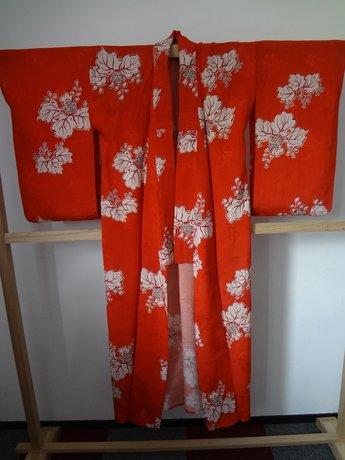 Japanse Zomer Kimono Licht Rood Hana