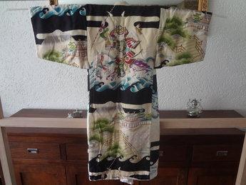 Japanse Miyamairi Kimono Kinder